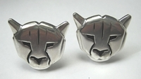 Sterling Panther Cufflinks